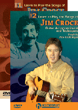 Learn to Play the Songs of Jim Croce - Two-DVD Set