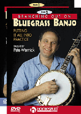 Branching Out On Bluegrass Banjo - Two-DVD Set