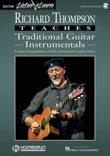 Richard Thompson Teaches Traditional Guitar Instrumentals - Book/Audio