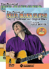 The Power of Delta Blues Guitar - Two-DVD Set