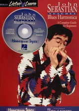 John Sebastian Teaches Blues Harmonica Listen and Learn