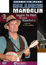 Learn To Play Blues Mandolin - Two-DVD Set