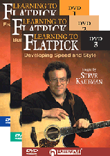 Learning To Flatpick - Three-DVD Set