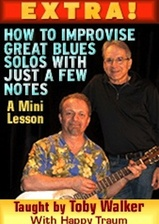 How To Improvise Great Blues Solos With Just a Few Notes