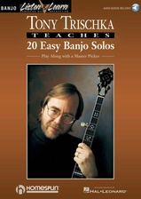 Tony Trischka Teaches 20 Easy Banjo Solos - Book/Audio