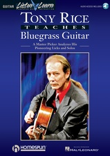 Tony Rice Teaches Bluegrass Guitar - Book/Audio