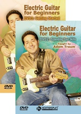 Electric Guitar for Beginners - Two-DVD Set