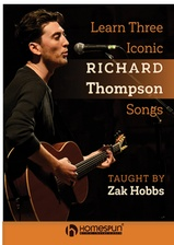 Learn Three Iconic Richard Thompson Songs