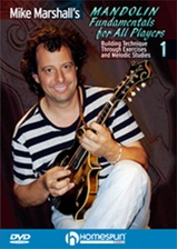 Mike Marshall's Mandolin Fundamentals for All Players - DVD 1